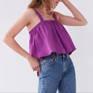 Urban Outfitters Fuchsia Crop Top